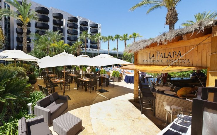 RESTAURANT LA PALAPA ( not available) Albir Playa Hotel & Spa  Alfaz del Pi