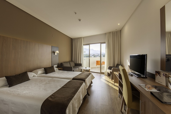Standard rooms albir playa hotel & spa  alfaz del pi