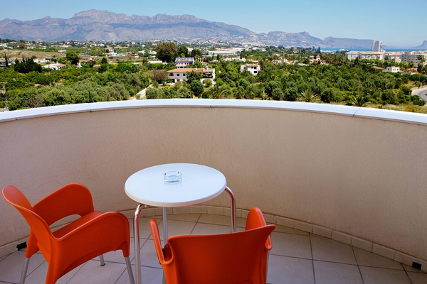 Standard room with pool view albir playa hotel & spa  alfaz del pi